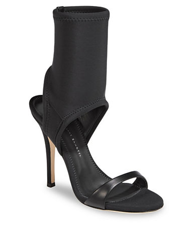 Giuseppe Zanotti Alien Heel Carlito Cutout Sandals-BLACK-EUR 36.5/US 6.5
