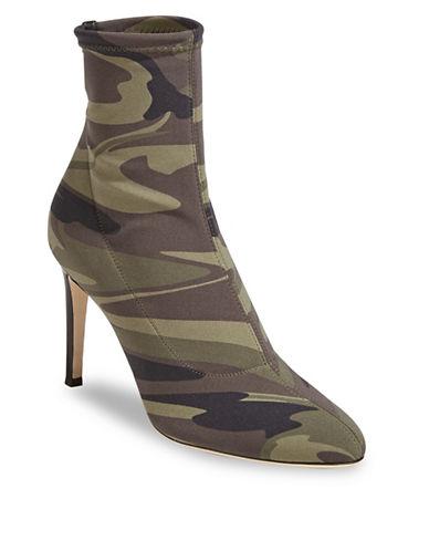 Giuseppe Zanotti Bimba Camo Sock Booties-ARMY PRINT-EUR 36.5/US 6.5