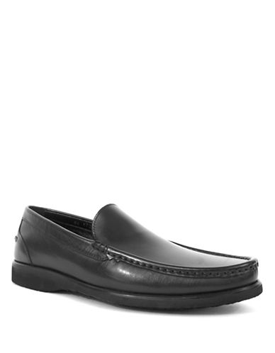 Jay+Dee Man Classic Leather Loafers-BLACK-EU 43/US 10