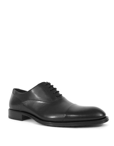 Jay+Dee Man The Owen Leather Dress Shoes-BLACK-EU 43/US 10