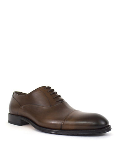 Jay+Dee Man The Owen Leather Dress Shoes-BROWN-EU 40/US 7