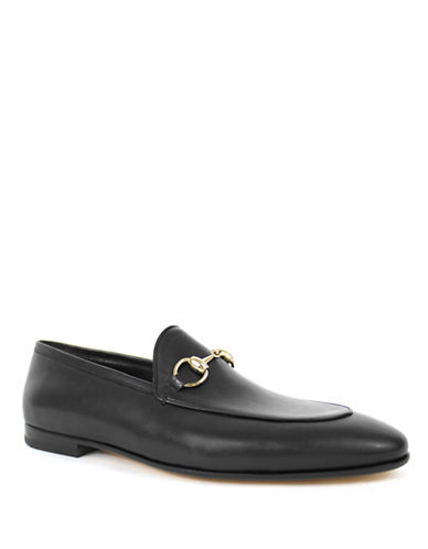 Jay+Dee Man The Liam Leather Dress Loafers-BLACK-EU 41/US 8