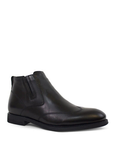 Jay+Dee Man Bane Leather Dress Boot-BLACK-EU 43/US 10