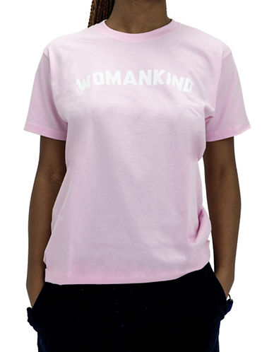 Adolescent Clothing Womankind Cotton Tee-PINK-X-Small 89875703_PINK_X-Small