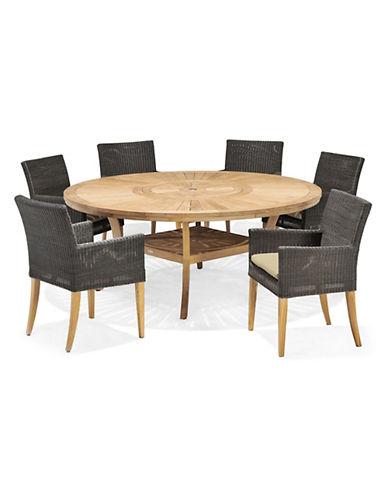 SCANCOM Komodo Table And Saint Lucia Six Seater Dining Set