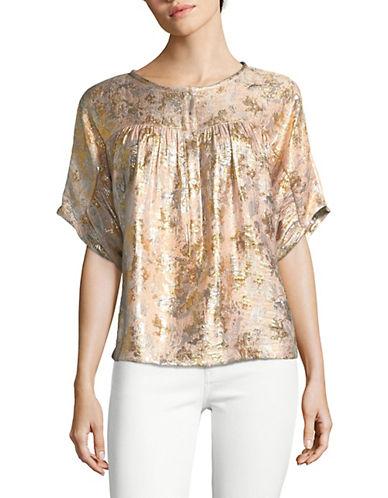 Masscob Metallic Silk-Blend Top 90023959