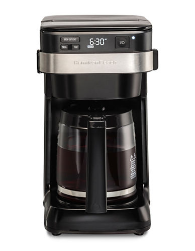 Hamilton Beach Programmable Easy Access Coffee Maker-BLACK-One Size