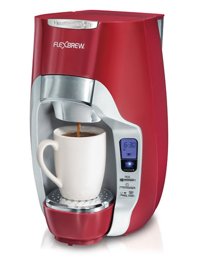 Hamilton Beach FlexBrew Coffeemaker Burgandy-RED-One Size 87533718_RED_One Size