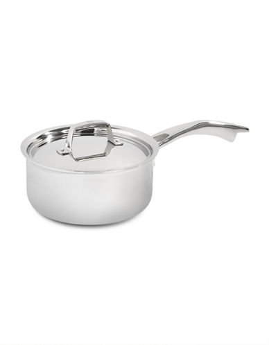 Zwilling J.A.Henckels Truclad 3-Quart 2.75L Saucepan with Lid-SILVER-One Size