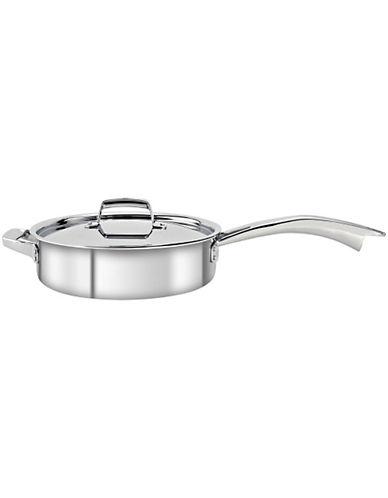 Zwilling J.A.Henckels Truclad 5 quart 4.7L Sauté Pan with Lid-SILVER-One Size