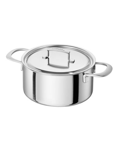 Zwilling J.A.Henckels Sensation Saucepot with Lid 5.2 L-SILVER-5.2L