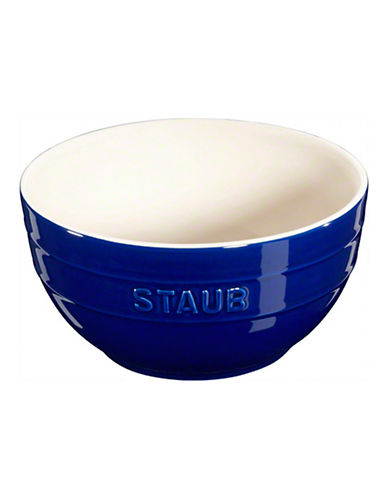 Staub 1.3 Quart Ceramic Large Bowl-BLUE-One Size