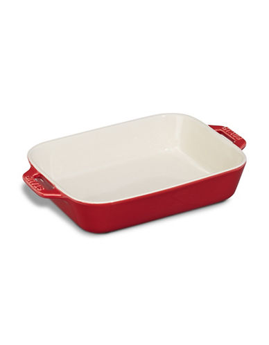 Staub Gratin Ceramic Cooking Dish-CHERRY-6x7.5