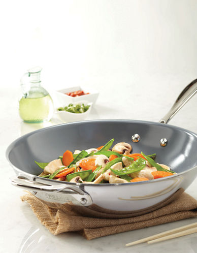 Zwilling J.A.Henckels ZWILLING Vistaclad Wok-STAINLESS STEEL-One Size