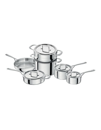 Zwilling J.A.Henckels Sensation 10-Piece Cookware Set - Induction Ready-SILVER-One Size