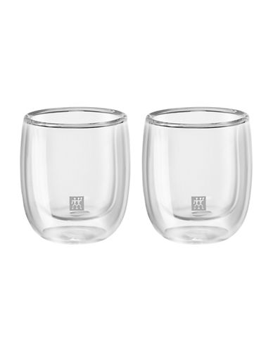 Zwilling J.A.Henckels Sorrento Double Wall Espresso Glass Set-CLEAR-One Size