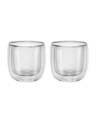 Zwilling J.A.Henckels Sorrento Double Wall Teaglass Set-CLEAR-One Size