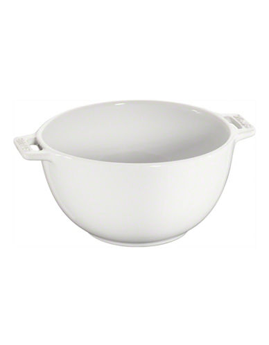 Staub Ceramic Small Serving Bowl-WHITE-One Size