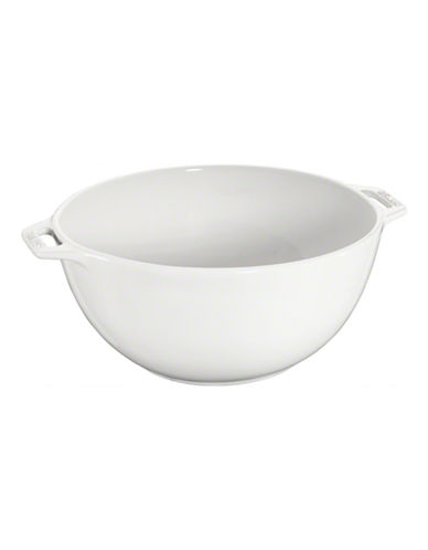Staub Ceramic Large Serving Bowl-WHITE-One Size