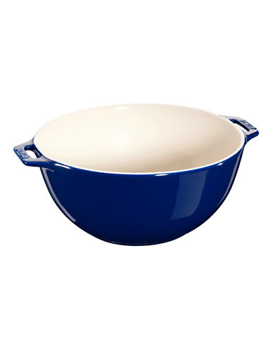Staub Ceramic Large Serving Bowl-BLUE-One Size