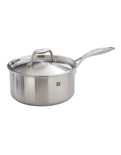 Zwilling J.A.Henckels Sol II Ceraforce Ceramic Saucepan with Lid 2.8L-SILVER-One Size