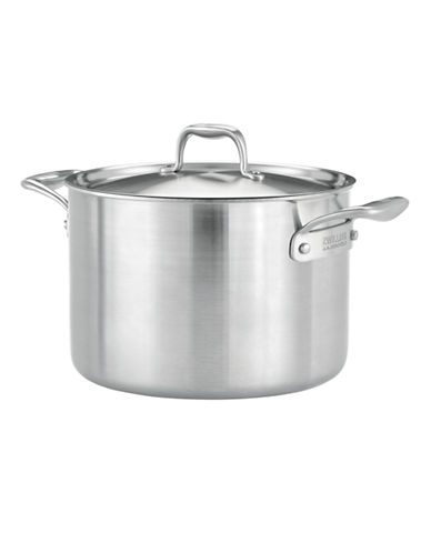 Zwilling J.A.Henckels Zwilling J.A. Henckels Sol II Ceraforce Ceramic Stockpot with Lid 7.5L-SILVER-One Size