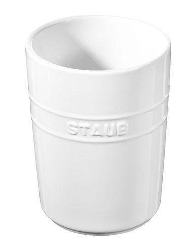 Staub Ceramic Utensil Holder-WHITE-12