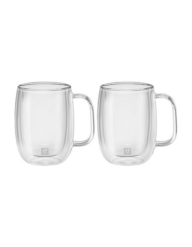 Zwilling J.A.Henckels Two-Piece Sorrento Plus Coffee Cups-CLEAR-One Size