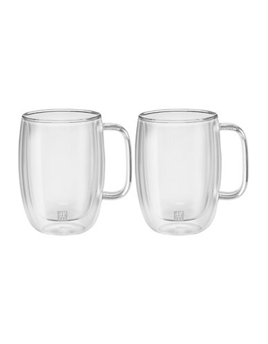 Zwilling J.A.Henckels Sorrento Latte Glass Mugs-CLEAR-One Size
