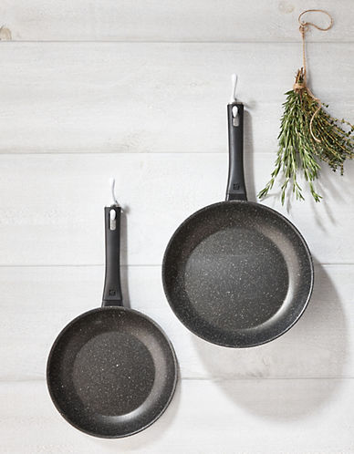 Zwilling J.A.Henckels Two-Pack Marquina Non-stick Frying Pans-BLACK-2 quart