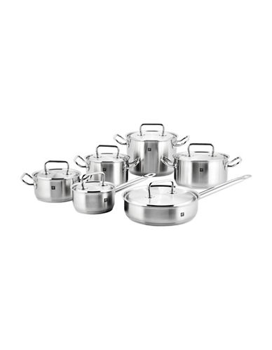 Zwilling J.A.Henckels Twin Classic Twelve Piece Set - Induction Ready-STAINLESS STEEL-One Size