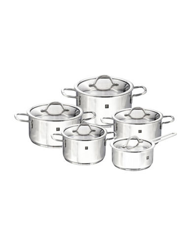 Zwilling J.A.Henckels 10-Piece Neo Cookware Set-STAINLESS STEEL-One Size