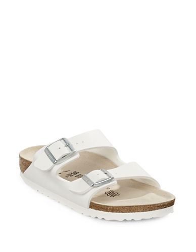 Birkenstock Womens Arizona Sandals-WHITE-EUR 39/US 8