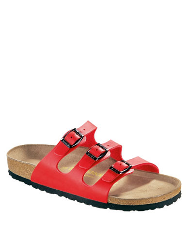 Birkenstock Womens Florida Sandals-CHERRY-EUR 38/US 7