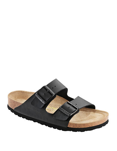 Birkenstock Mens Arizona Sandals-BLACK-EU 44/US 11