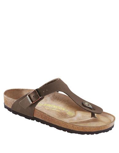 Birkenstock Womens Gizeh Thong Sandals-MOCHA-EUR 37/US 6