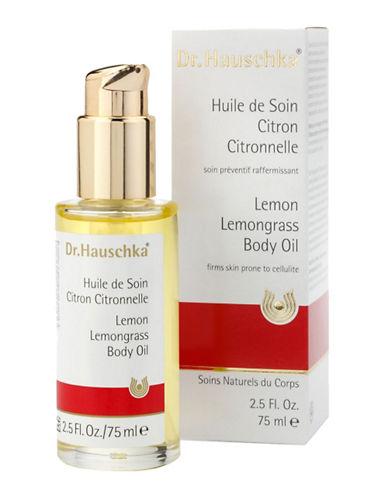 Dr. Hauschka Lemon Lemongrass Body Oil 75 Ml-NO COLOR-75 ml