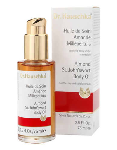 Dr. Hauschka Almond StjohnSwort Body Oil 75 Ml-NO COLOR-75 ml