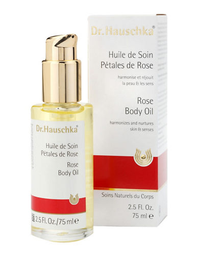 Dr. Hauschka Rose Body Oil 75 Ml-NO COLOR-75 ml