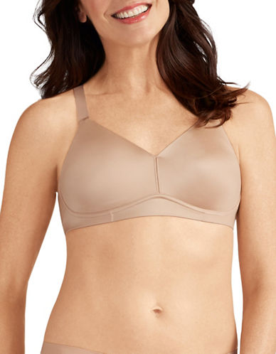 Amoena Back Smoothing Pocketed Mastectomy Bra-BEIGE-42B