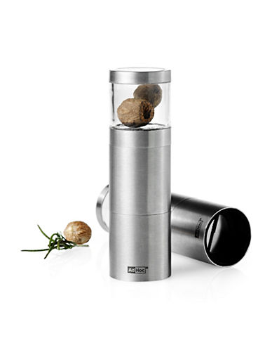Adhoc Muskanito Nutmeg Mill-STAINLESS STEEL-One Size
