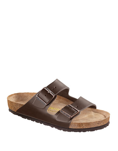Birkenstock Mens Arizona Sandals-BROWN-EU 43/US 10