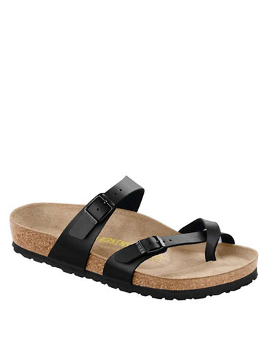 Birkenstock Womens Mayari Toe-Loop Sandals-BLACK-EUR 35/US 4