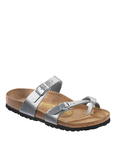 Birkenstock Womens Mayari Sandals-SILVER-EUR 37/US 7
