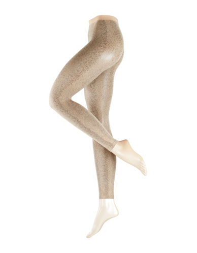 Falke Wildcat Fashion Leggings-BEIGE-Small