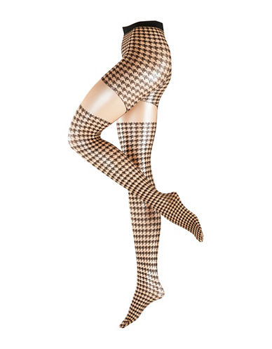 Falke Retro Tights-BEIGE-Small