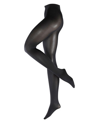Falke Pure Shine Tights-BLACK-Small