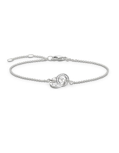 Thomas Sabo Together Forever Bracelet-SILVER-One Size