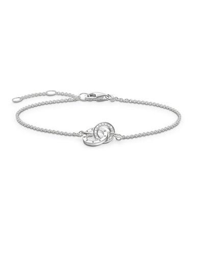 Thomas Sabo Together Forever Bracelet-SILVER-One Size