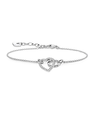 Thomas Sabo Together Heart Bracelet-ROSEGOLD-One Size